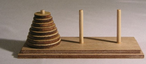 Tower of Hanoi – a study of recursive function