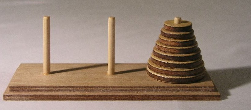 hanoi problem The tower of hanoi puzzle was invented by the french mathematician edouard lucas in 1883 he was inspired by a legend that tells of a hindu temple where the puzzle.